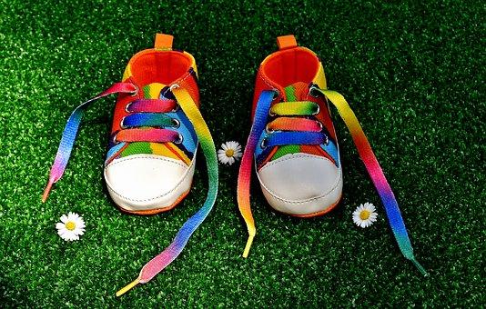 buty dla dzieci kolorowe